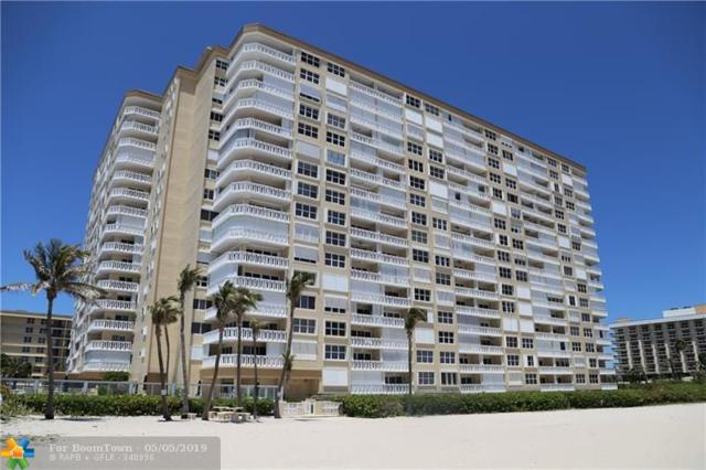 1012 N Ocean Blvd #1210, Pompano Beach, FL 33062 (MLS #F10174644) :: Patty Accorto Team