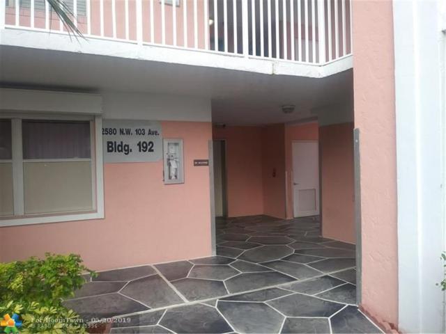 2580 NW 103  Ave #208, Sunrise, FL 33322 (#F10175909) :: Weichert, Realtors® - True Quality Service