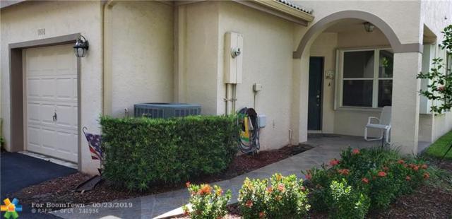 1880 SW 53 #1880, Plantation, FL 33317 (MLS #F10177471) :: Green Realty Properties