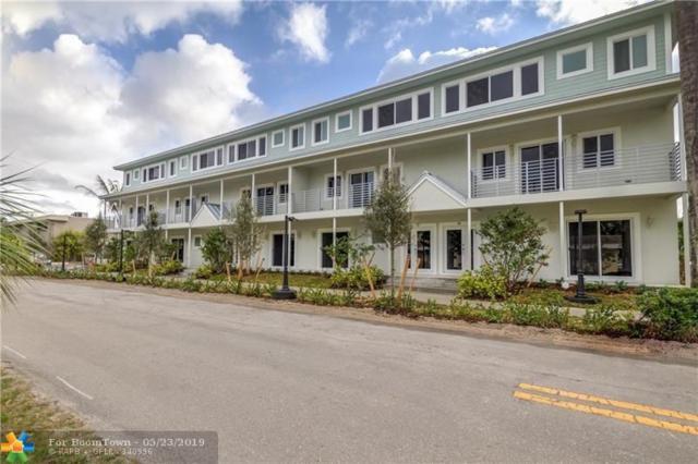 609 NE 28th Street, Fort Lauderdale, FL 33334 (MLS #F10177525) :: Castelli Real Estate Services