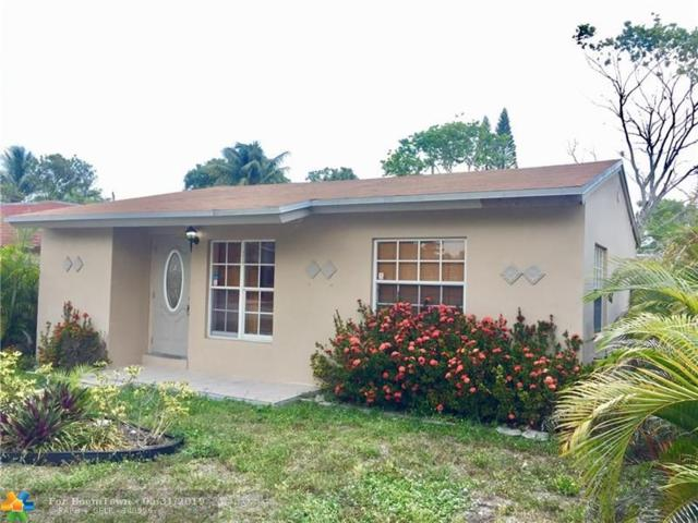 1416 NW 7th Ave, Fort Lauderdale, FL 33311 (MLS #F10177941) :: Green Realty Properties