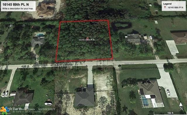 16145 89th Pl, Loxahatchee, FL 33470 (MLS #F10178333) :: Green Realty Properties