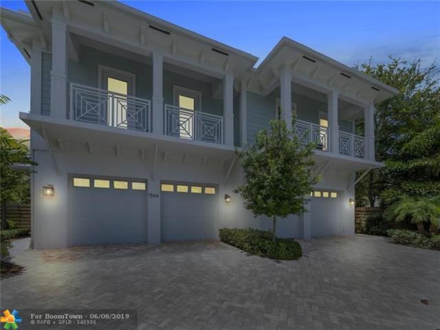 1546 Argyle Dr #3, Fort Lauderdale, FL 33312 (MLS #F10179502) :: EWM Realty International