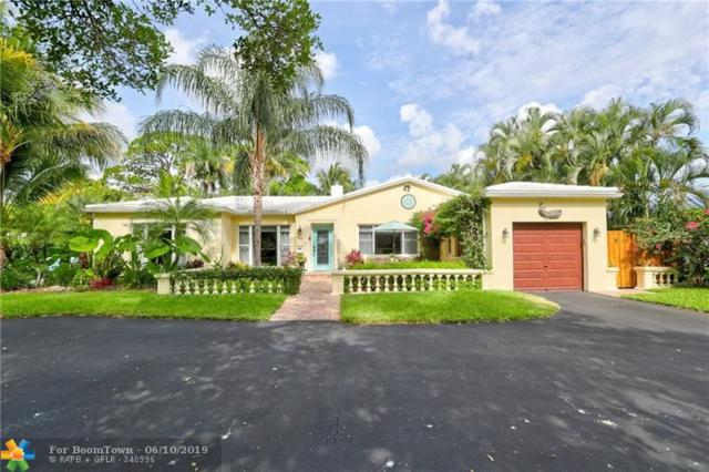 1519 Bayview Drive, Fort Lauderdale, FL 33304 (MLS #F10179842) :: Green Realty Properties