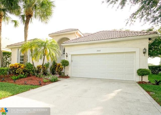 3441 NW 70th Ave, Margate, FL 33063 (MLS #F10179851) :: Green Realty Properties
