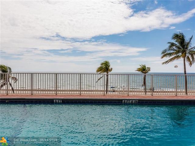 3111 N Ocean Dr #402, Hollywood, FL 33019 (MLS #F10180046) :: The Edge Group at Keller Williams