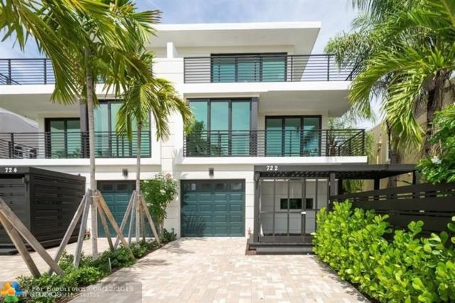 722 NE 15th Ave #1, Fort Lauderdale, FL 33304 (MLS #F10180456) :: The O'Flaherty Team
