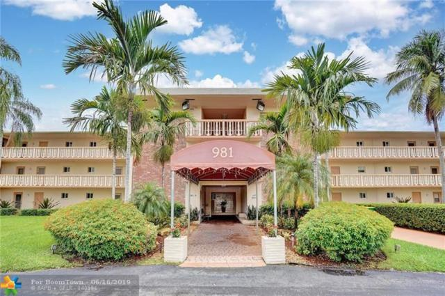 981 Hillcrest Court #208, Hollywood, FL 33021 (MLS #F10180977) :: United Realty Group