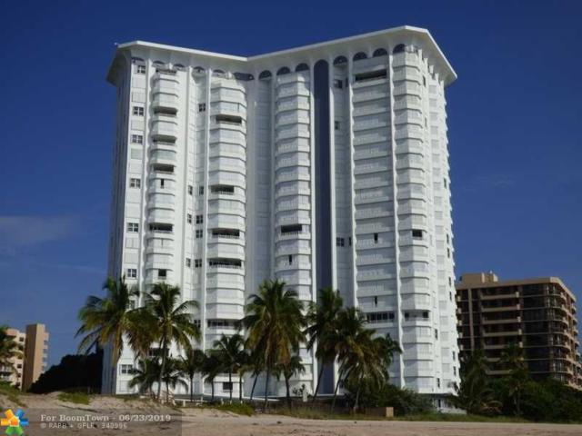 1340 S Ocean Blvd #1806, Pompano Beach, FL 33062 (MLS #F10181551) :: Green Realty Properties