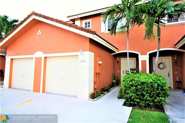 1164 NW 100th Ave #1164, Pembroke Pines, FL 33024 (MLS #F10181606) :: United Realty Group