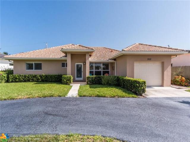 262 Algiers Ave, Lauderdale By The Sea, FL 33308 (MLS #F10181894) :: Green Realty Properties