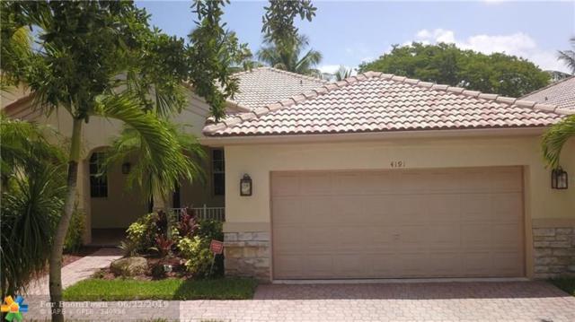 4191 Laurel Ridge Cir, Weston, FL 33331 (MLS #F10182017) :: Green Realty Properties