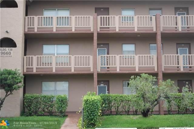 9660 Sunrise Lakes Blvd #109, Sunrise, FL 33322 (MLS #F10183701) :: Green Realty Properties