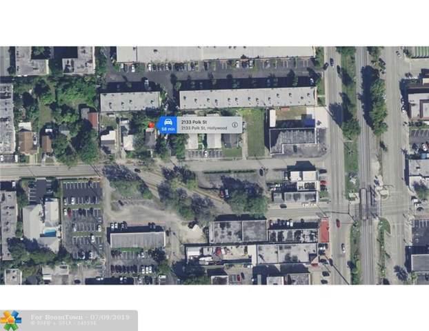 2133 Polk St, Hollywood, FL 33020 (MLS #F10184293) :: Green Realty Properties