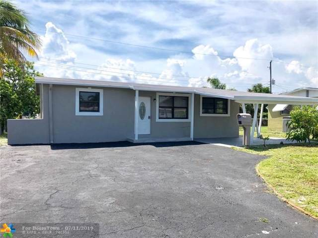 4161 NW 11th Ave, Oakland Park, FL 33309 (MLS #F10184607) :: Berkshire Hathaway HomeServices EWM Realty