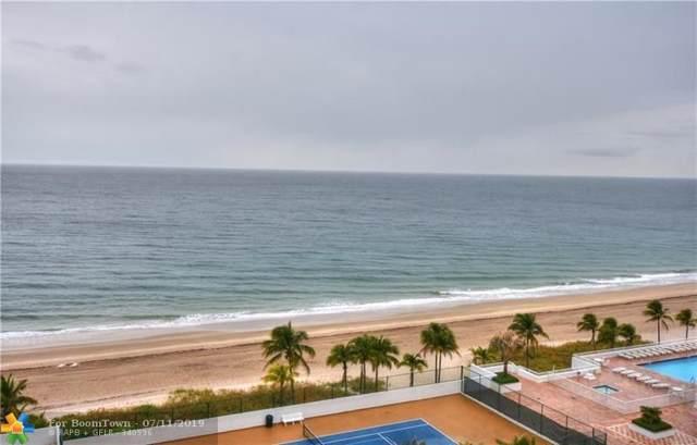 1360 S Ocean Blvd #1104, Pompano Beach, FL 33062 (MLS #F10184728) :: The O'Flaherty Team