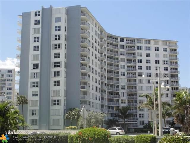 301 N Ocean Bl #312, Pompano Beach, FL 33062 (MLS #F10184873) :: The Paiz Group