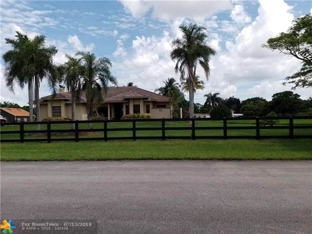 17500 SW 63rd Mnr, Southwest Ranches, FL 33331 (MLS #F10184878) :: The Paiz Group
