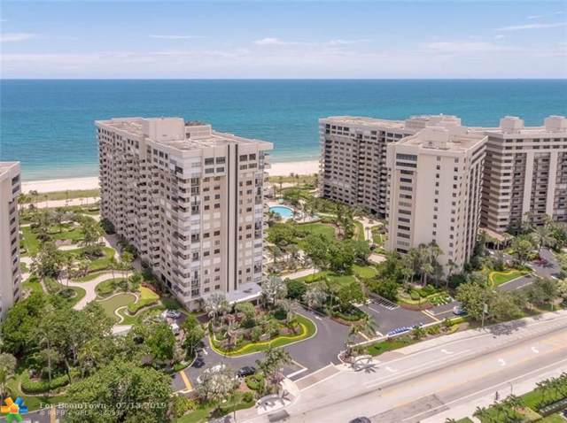 5000 N Ocean Blvd #1510, Lauderdale By The Sea, FL 33308 (MLS #F10184905) :: Green Realty Properties