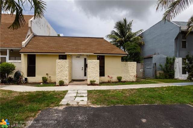 1343 W Seaview #0, North Lauderdale, FL 33068 (#F10185190) :: Weichert, Realtors® - True Quality Service