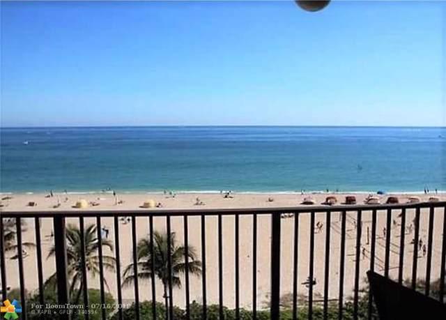 1500 N Ocean Blvd #605, Pompano Beach, FL 33062 (MLS #F10185223) :: The Paiz Group
