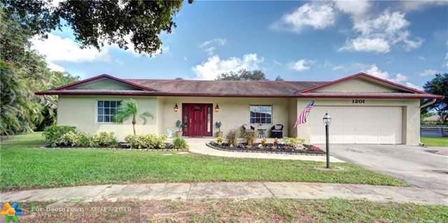 1201 SW 70th Ave, Plantation, FL 33317 (#F10185246) :: Dalton Wade