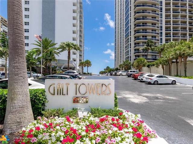 4250 Galt Ocean Dr Ph-F, Fort Lauderdale, FL 33308 (MLS #F10185472) :: The Paiz Group
