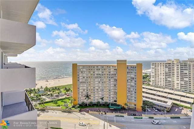 405 N Ocean Blvd #1828, Pompano Beach, FL 33062 (MLS #F10185479) :: The Paiz Group