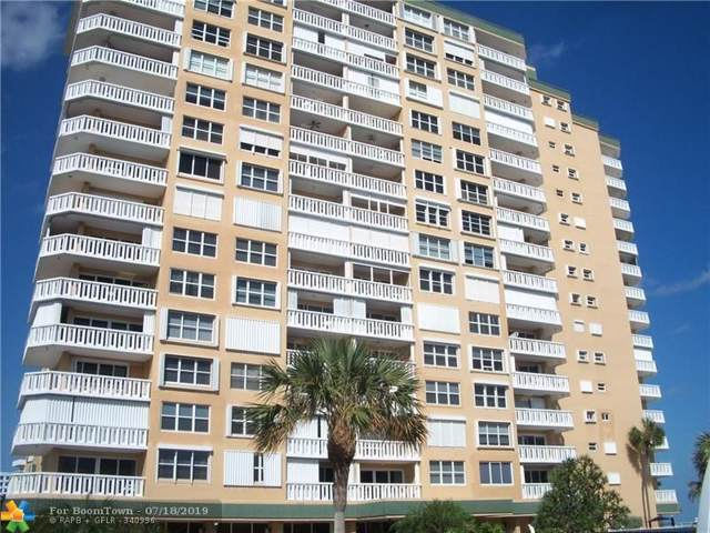 1012 N Ocean Blvd #212, Pompano Beach, FL 33062 (MLS #F10185587) :: Castelli Real Estate Services