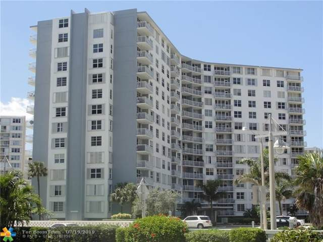 301 N Ocean Blvd #505, Pompano Beach, FL 33062 (MLS #F10185768) :: The Paiz Group