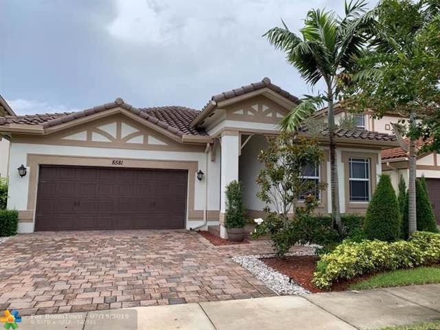 8581 Waterside Court, Parkland, FL 33076 (MLS #F10185817) :: Berkshire Hathaway HomeServices EWM Realty