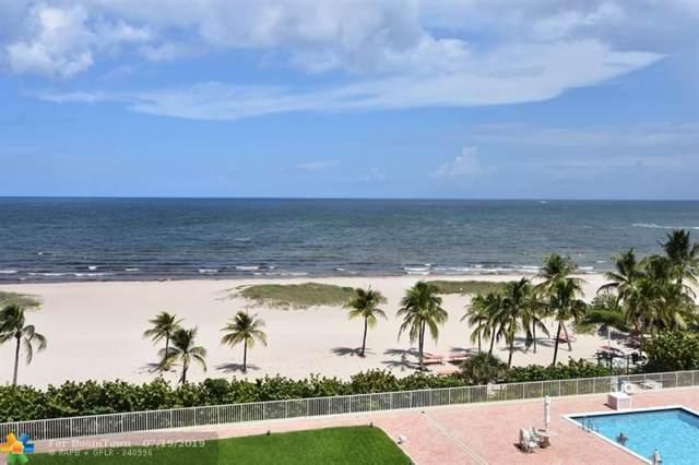 750 N Ocean Blvd #605, Pompano Beach, FL 33062 (MLS #F10185848) :: Berkshire Hathaway HomeServices EWM Realty