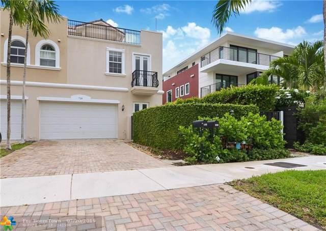 726 NE 15TH AV #2, Fort Lauderdale, FL 33304 (MLS #F10185917) :: The Paiz Group