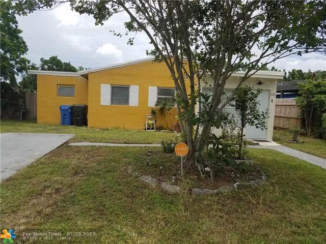 611 NE 56th Ct, Oakland Park, FL 33334 (MLS #F10186177) :: Castelli Real Estate Services