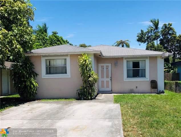 2339 Farragut St, Hollywood, FL 33020 (MLS #F10186282) :: Green Realty Properties