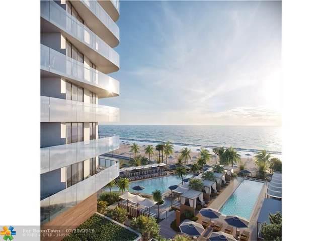 525 N Ft Lauderdale Bch Bl #1801, Fort Lauderdale, FL 33304 (MLS #F10186800) :: Green Realty Properties