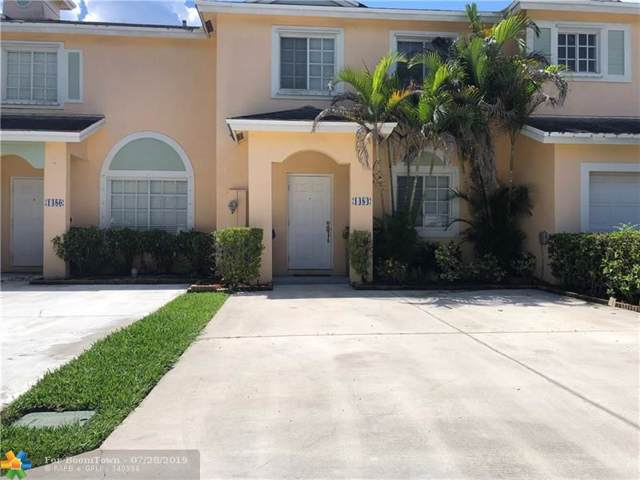 1484 SW 47th Ave #1484, Deerfield Beach, FL 33442 (#F10187087) :: Weichert, Realtors® - True Quality Service