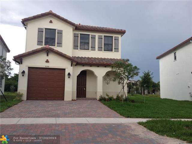 9199 SW 34th Ct, Miramar, FL 33025 (MLS #F10187298) :: Castelli Real Estate Services