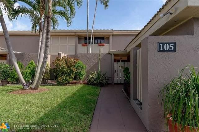105 Bonnie Brae Way #105, Hollywood, FL 33021 (MLS #F10187375) :: Green Realty Properties