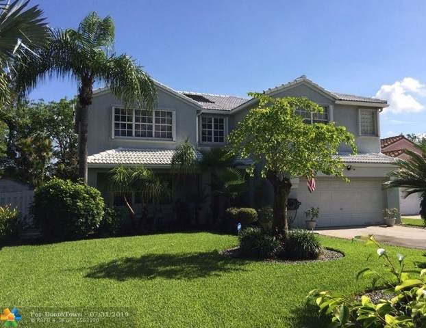 10595 SW 12th Mnr, Pembroke Pines, FL 33025 (MLS #F10187420) :: The Howland Group