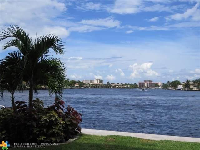 1201 S Riverside Dr #104, Pompano Beach, FL 33062 (MLS #F10187939) :: Castelli Real Estate Services