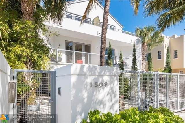 1509 NE 4th Pl, Fort Lauderdale, FL 33301 (MLS #F10188107) :: The Howland Group