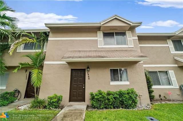 1445 Sussex Dr #1445, North Lauderdale, FL 33068 (MLS #F10188269) :: GK Realty Group LLC