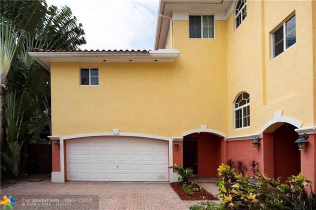 1636 NE 5th Ct #1636, Fort Lauderdale, FL 33301 (#F10188507) :: Weichert, Realtors® - True Quality Service