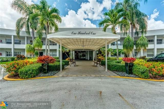 4040 W Palm Aire Dr #208, Pompano Beach, FL 33069 (MLS #F10189179) :: Berkshire Hathaway HomeServices EWM Realty