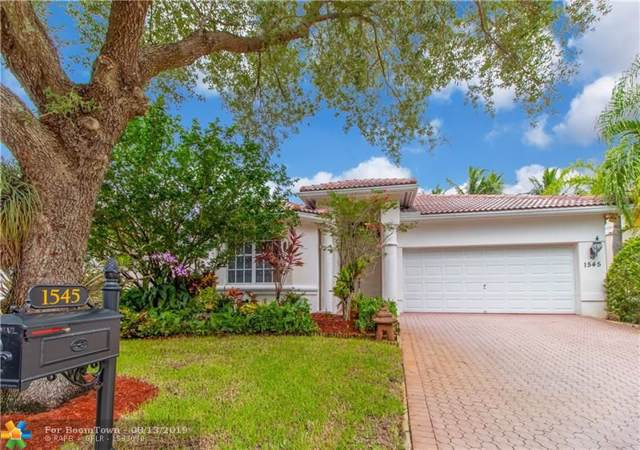 1545 NW 121st Dr, Coral Springs, FL 33071 (MLS #F10189245) :: The O'Flaherty Team