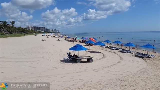 4013 N Ocean Dr #106, Lauderdale By The Sea, FL 33308 (#F10189329) :: Harold Simon with Douglas Elliman Real Estate