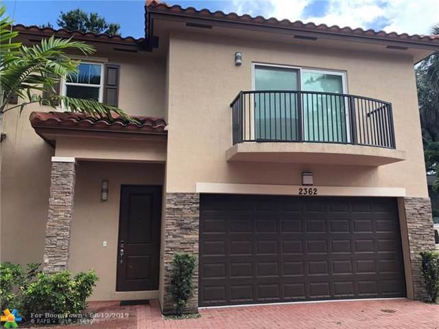 2362 SW 18th Ave #2362, Fort Lauderdale, FL 33315 (MLS #F10189361) :: The O'Flaherty Team