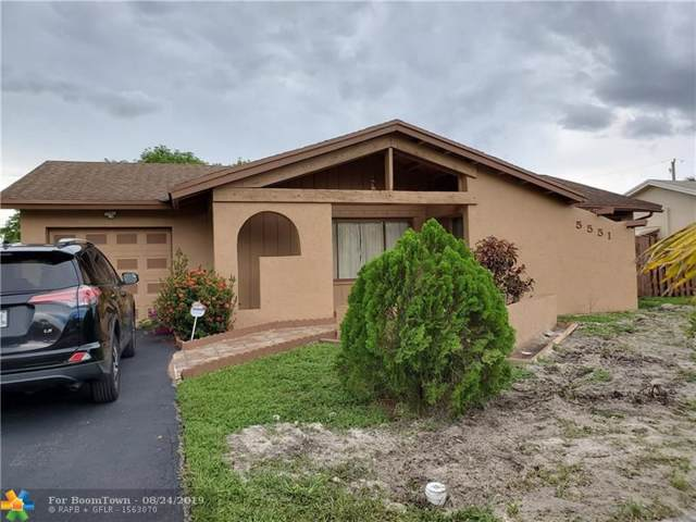 5551 SW 7th Pl, Margate, FL 33068 (MLS #F10189385) :: RICK BANNON, P.A. with RE/MAX CONSULTANTS REALTY I