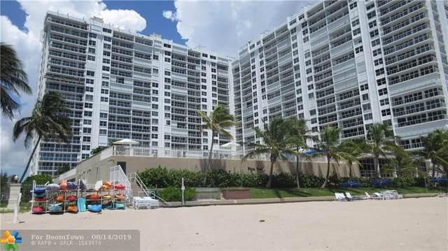 4300 N Ocean Blvd 7J, Fort Lauderdale, FL 33308 (MLS #F10189397) :: Berkshire Hathaway HomeServices EWM Realty